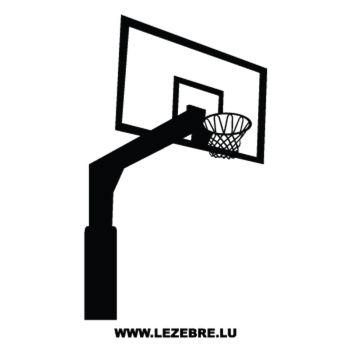 Sticker Panier Basketball
