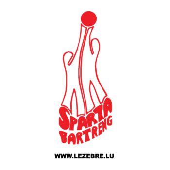 Sticker Sparta Bartreng Logo