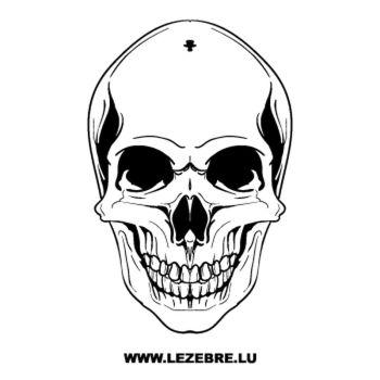 Skull Decal 5