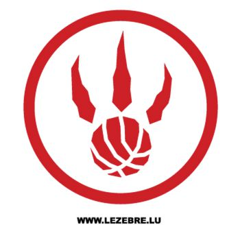 Sticker Toronto Raptors Logo