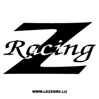 Z Racing Decal