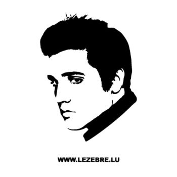 Elvis Presley Decal