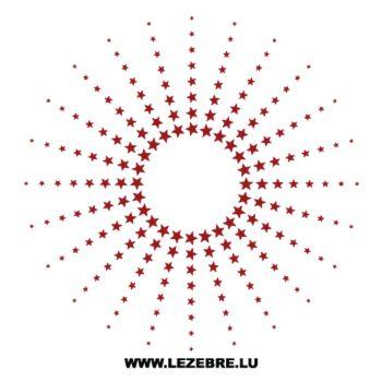 kit stickers Cercle d'Étoiles
