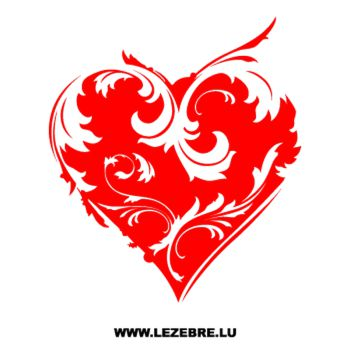 Heart Decal 2