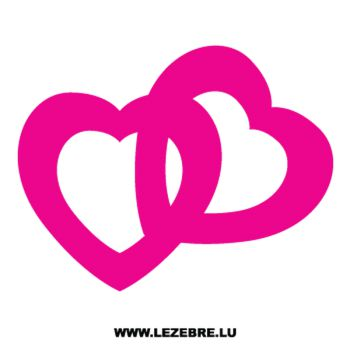 Hearts Decal 7
