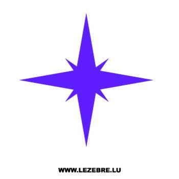 Sticker Déco Étoile 3