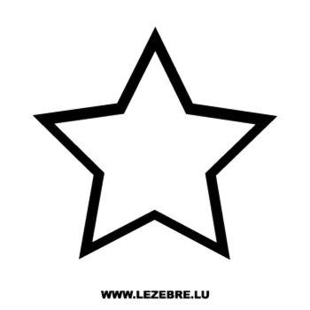 Sticker Déco Étoile 4