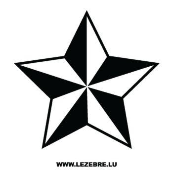 Sticker Déco Étoile 6