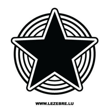 Sticker Étoile 9