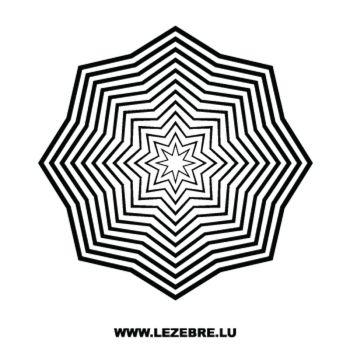Sticker Déco Étoiles 11