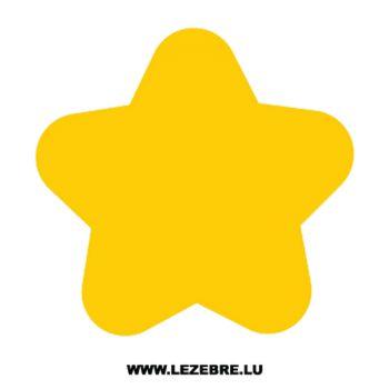 Sticker Déco Étoile 12