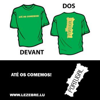 tee shirt Portugal - Até os Comemos!