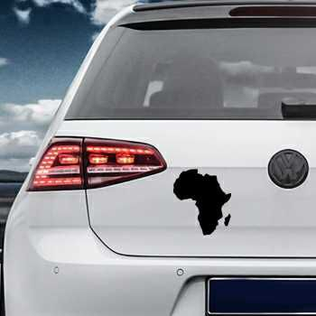 Africa Continent Volkswagen MK Golf Decal