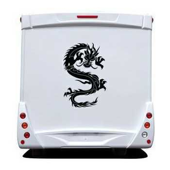 Sticker Camping Car Dragon Tattoo Motif 11