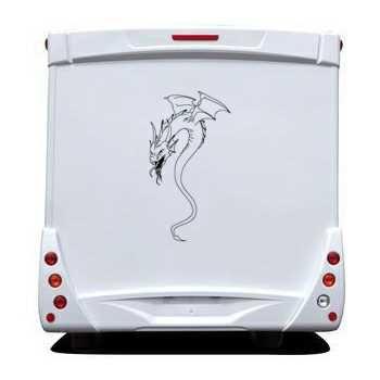 Sticker Camping Car Dragon 21