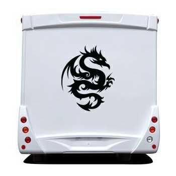 Dragon Tattoo Camping Car Decal 23