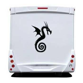 Sticker Camping Car Dragon 24