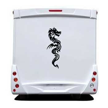 Dragon Camping Car Decal 56