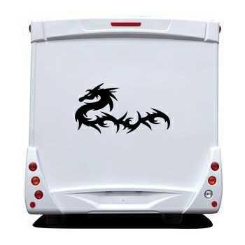 Sticker Camping Car Dragon