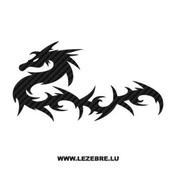 Dragon Carbon Decal