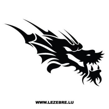 Sticker Dragon Tête 14