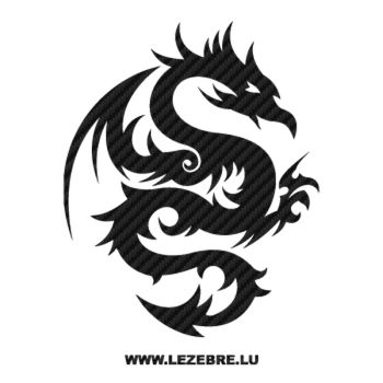 Dragon Tattoo Carbon Decal 23