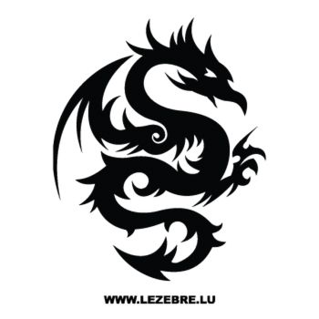 Dragon Tattoo Decal 23