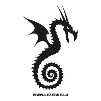 Dragon Carbon Decal 24