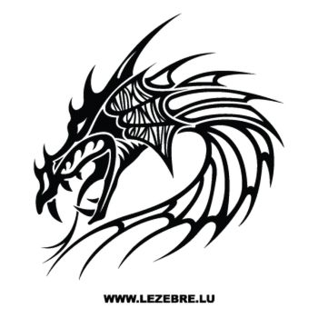 Dragon Head Decal 28