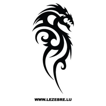 Dragon Tribal Decal 57