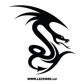 Sticker Dragon Tribal 59
