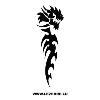 > Sticker Dragon La Bête 60