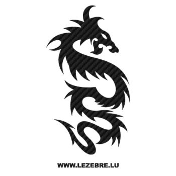 Dragon China Carbon Decal 62