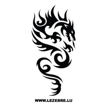 Dragon Tribal Decal 64