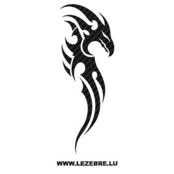 Dragon Tribal Carbon Decal