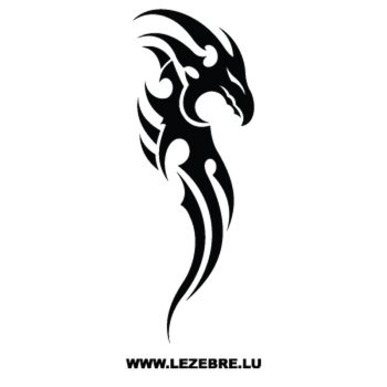Dragon Tribal Decal