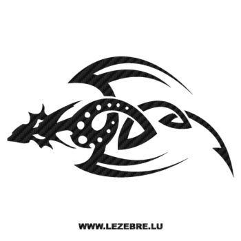 Dragon Tribal Carbon Decal 2