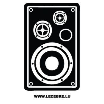 Sticker Enceinte Monitoring Studio