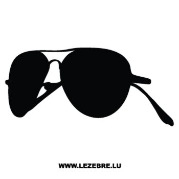Sticker Lunettes Soleil Ray Ban