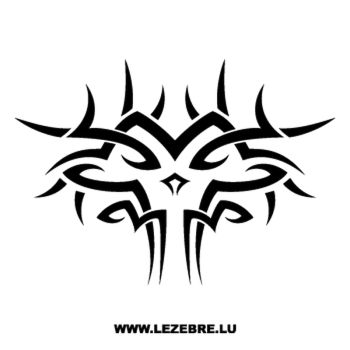 Sticker Tribal Schlange