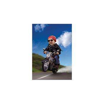 Sticker Déco Bébé sur Moto