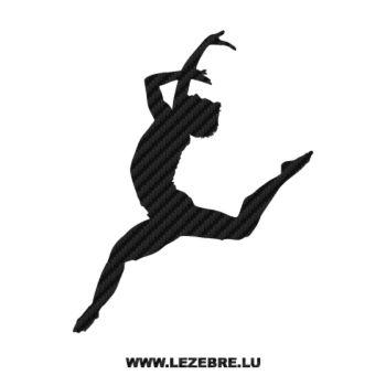Sticker Carbone Danseur Ballet