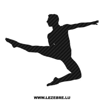 Sticker Carbone Danseur Ballet 3