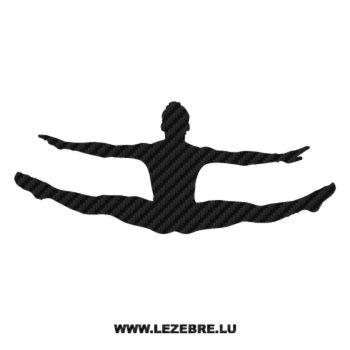Sticker Carbone Danseur Ballet 4