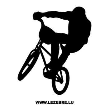BMX Freestyle Decal