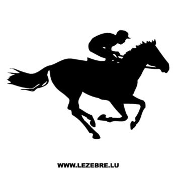Horse Race Decal