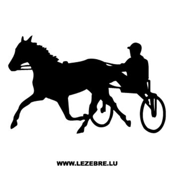 Horse Race Decal 2