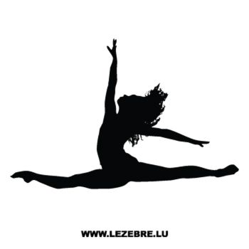 Contemporary Dance Decal