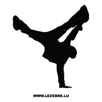 Breakdance B-Boy Decal