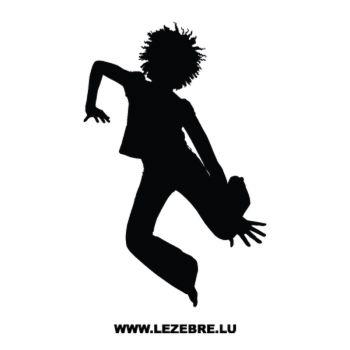 Afrolook Dancer Decal